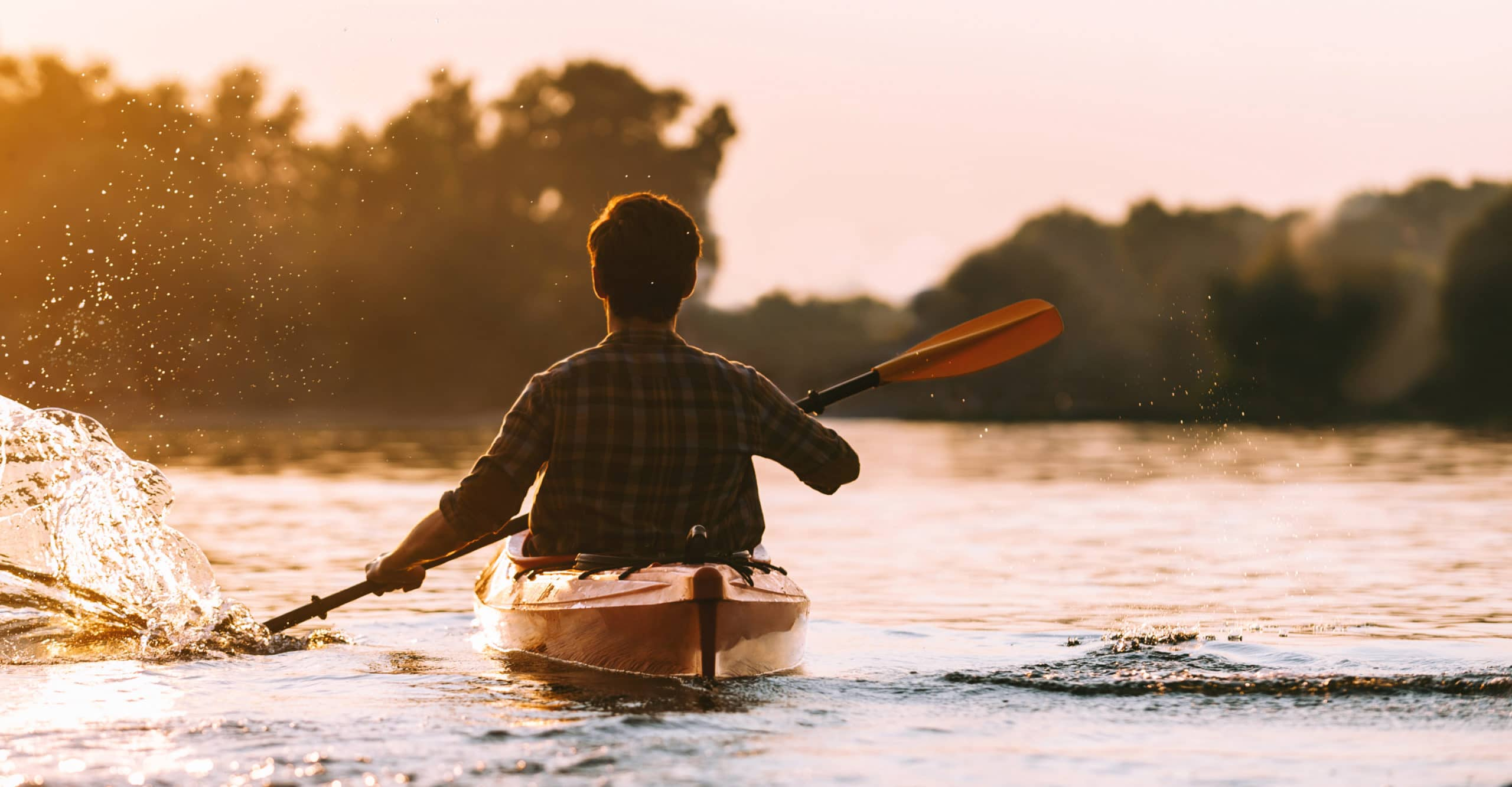 kayak in your own backyard at tanyard shores' waterfront park